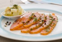 saumon gravelax épicerie fine - le nectar